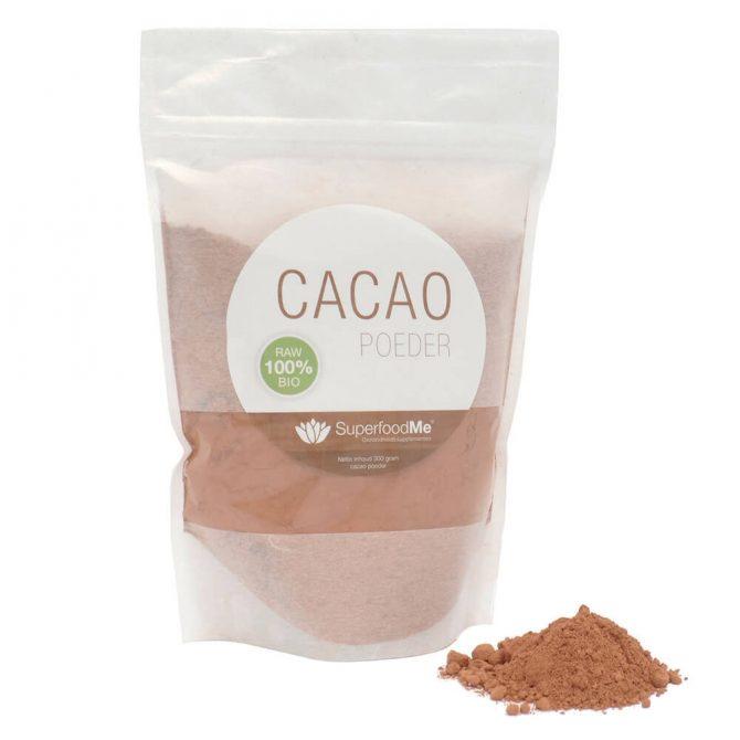 Biologisch rauwe Cacao Poeder Superfood SKAL bio keurmerk