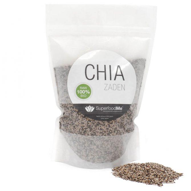 Biologisch Chiazaad Superfood SKAL bio keurmerk