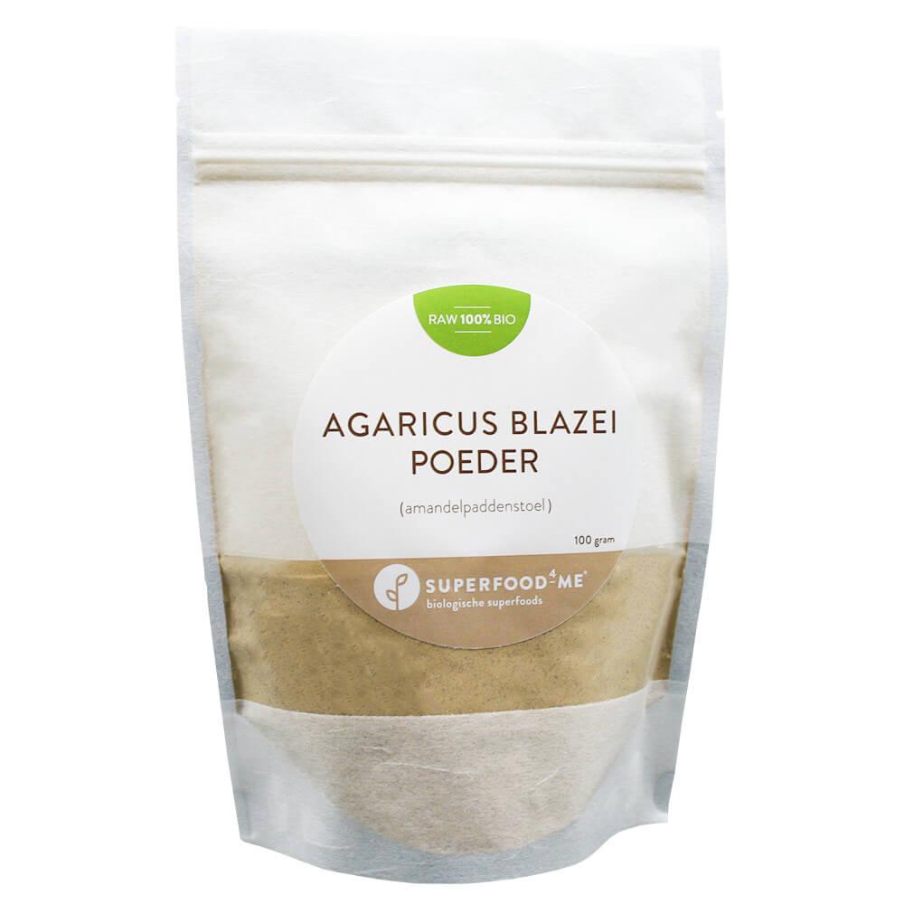 Biologische Agaricus Blazei poeder amandelpaddenstoel poeder Superfood4Me